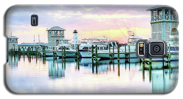 Galaxy S5 Case featuring the photograph Morning Calm by Maddalena McDonald