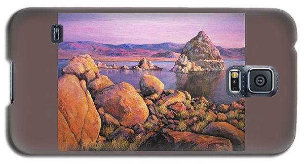 Morning Colors At Lake Pyramid Galaxy S5 Case