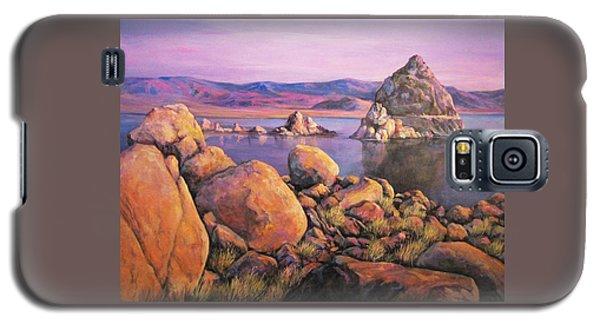 Morning Colors At Lake Pyramid Galaxy S5 Case
