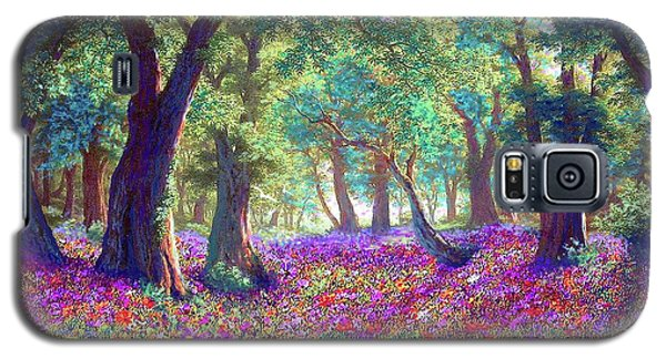 Impressionism Galaxy S5 Case - Morning Dew by Jane Small