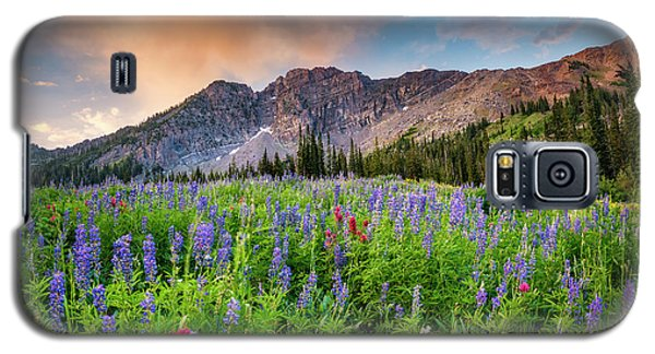 Morning Flowers In Little Cottonwood Canyon, Utah Galaxy S5 Case