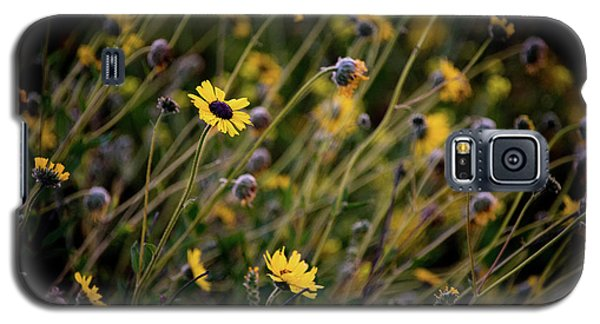 Galaxy S5 Case featuring the photograph Morning Flowers by Kelly Wade