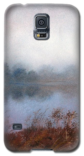 Galaxy S5 Case featuring the painting Morning Fog by Andrew King