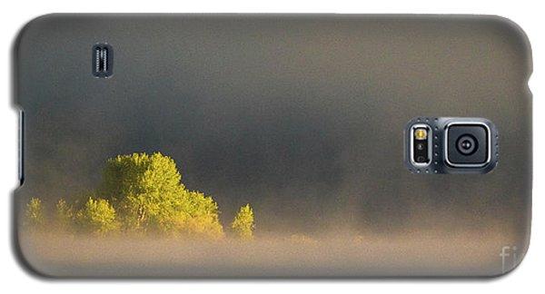 Morning Fog On Jackson Lake Grand Teton National Park  Galaxy S5 Case
