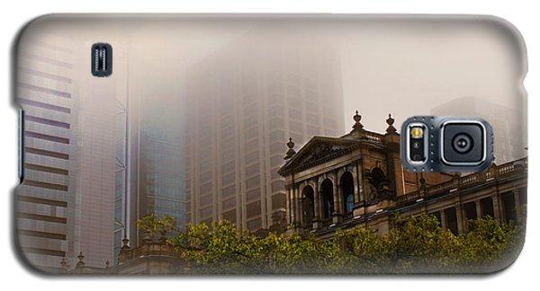 Morning Fog Over The Treasury Galaxy S5 Case
