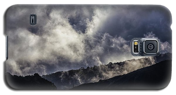 Morning Fog,mist And Cloud On The Moutain By The Sea In Californ Galaxy S5 Case