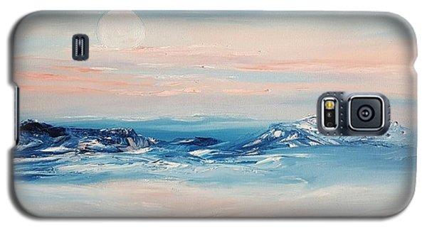 Morning Full Moon Galaxy S5 Case