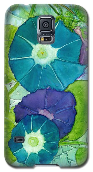 Morning Glories In Watercolor On Yupo Galaxy S5 Case