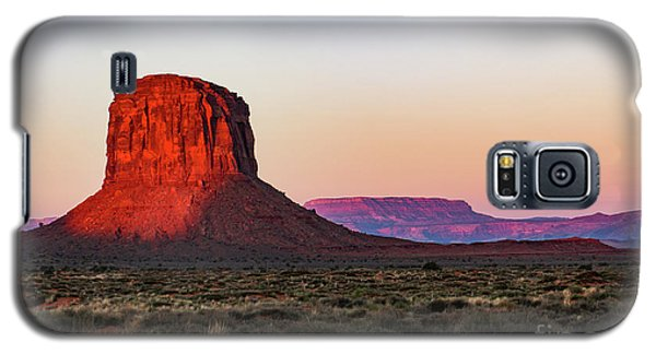 Morning Glory In Monument Valley Galaxy S5 Case