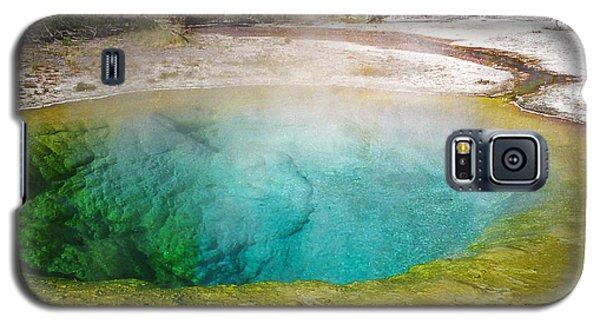 Morning Glory Pool Yellowstone National Park Galaxy S5 Case