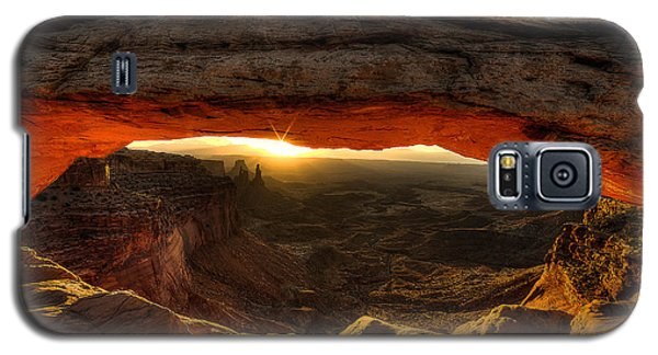 Morning Glow At Mesa Arch Galaxy S5 Case