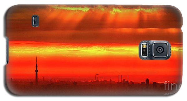 Morning Glow Galaxy S5 Case by Tatsuya Atarashi
