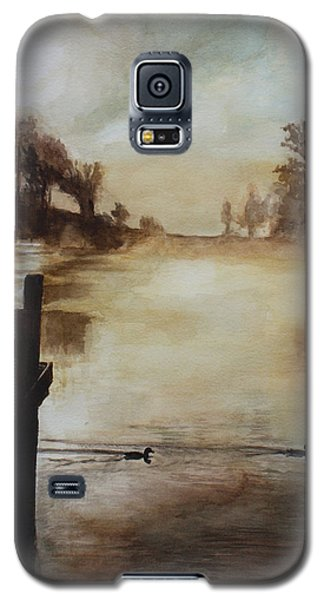Galaxy S5 Case featuring the painting Morning Has Broken by Rachel Hames