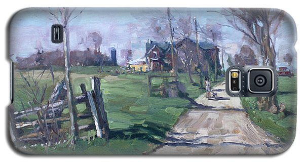 Georgetown Galaxy S5 Case - Morning In The Farm Georgetown by Ylli Haruni