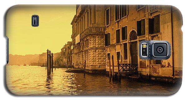 Morning In Venice Sepia Galaxy S5 Case