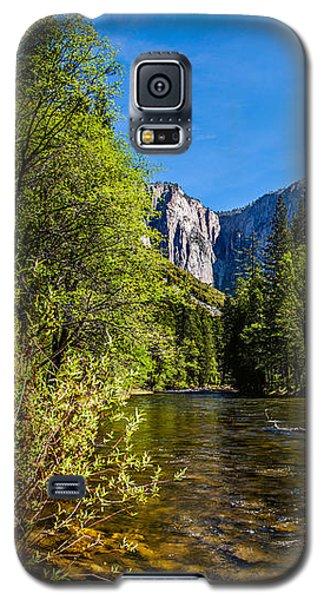 Yosemite National Park Galaxy S5 Case - Morning Inspirations 1 Of 3 by Az Jackson