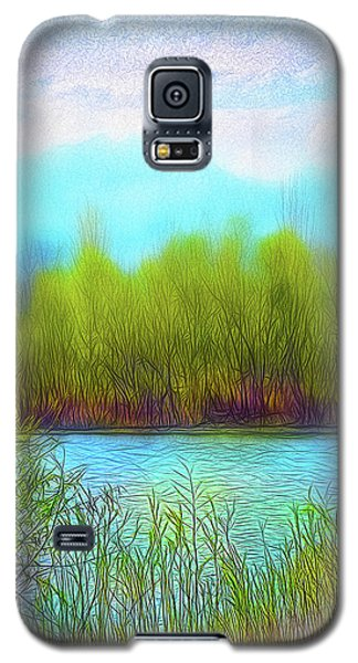 Morning Lake In Stillness Galaxy S5 Case