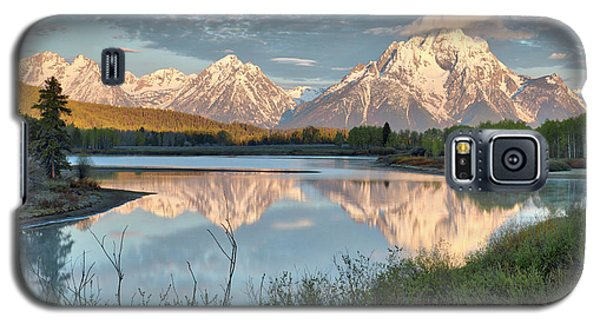 Morning Light At Oxbow Bend Galaxy S5 Case