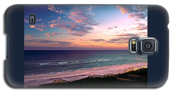 Morning Light On Rosemary Beach Galaxy S5 Case by Marie Hicks