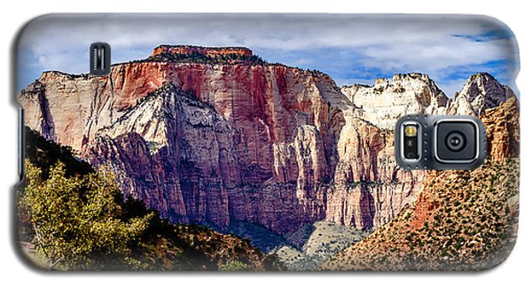 Morning Light On Zion's West Temple Galaxy S5 Case