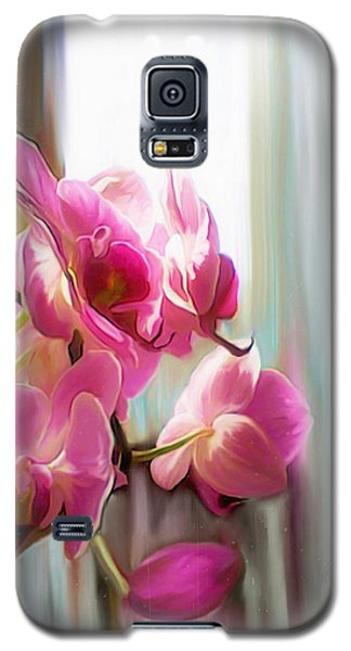 Morning Light Orchids Galaxy S5 Case