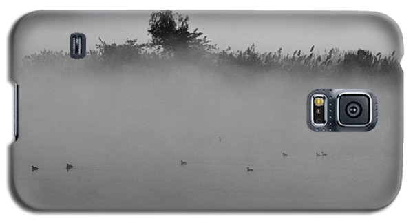 Morning Mist At Wetland Of Harike Galaxy S5 Case