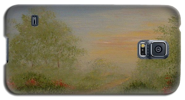 Morning Mist Galaxy S5 Case by Leea Baltes