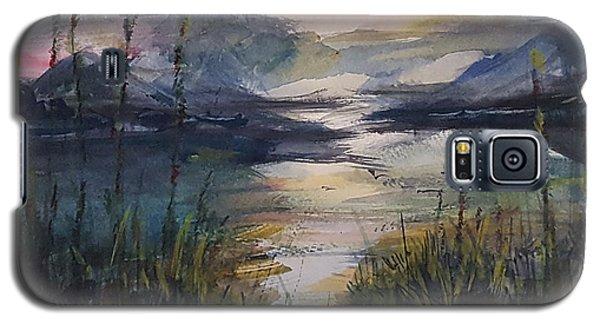 Morning Mountain Cove Galaxy S5 Case