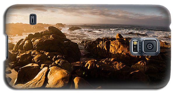 Galaxy S5 Case featuring the photograph Morning Ocean Panorama by Jorgo Photography - Wall Art Gallery