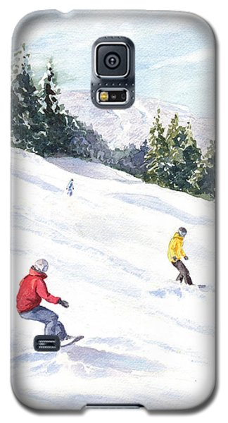 Morning On The Mountain Galaxy S5 Case