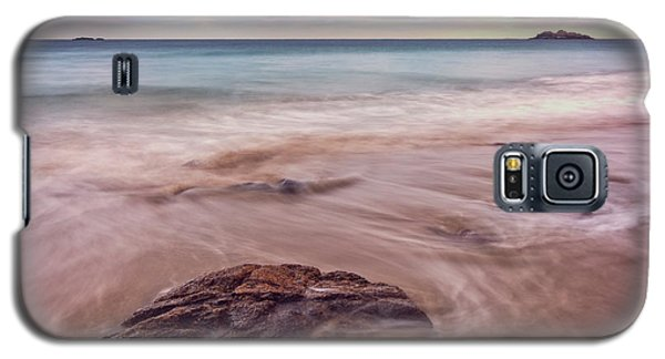 Morning Pastels Singing Beach Ma Galaxy S5 Case