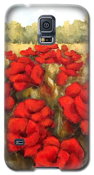 Morning Poppies Galaxy S5 Case