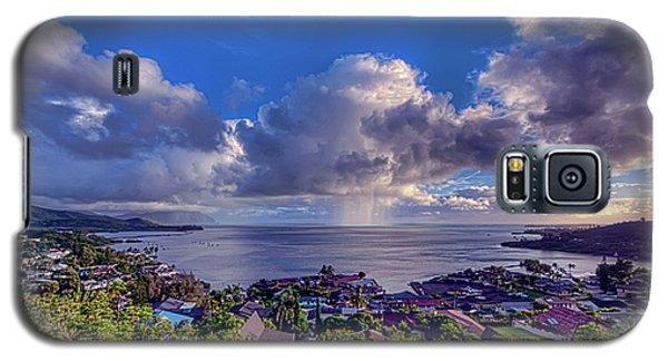 Morning Rain In Kaneohe Bay Galaxy S5 Case