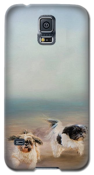 Morning Run At The Beach Galaxy S5 Case