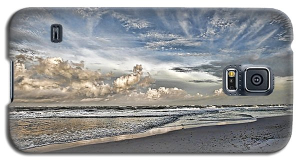 Morning Sky At The Beach Galaxy S5 Case