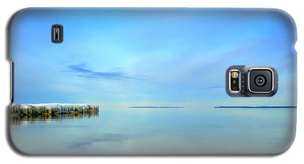 Morning Sky Reflections Galaxy S5 Case