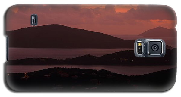 Galaxy S5 Case featuring the photograph Morning Sunrise From St. Thomas In The U.s. Virgin Islands by Jetson Nguyen