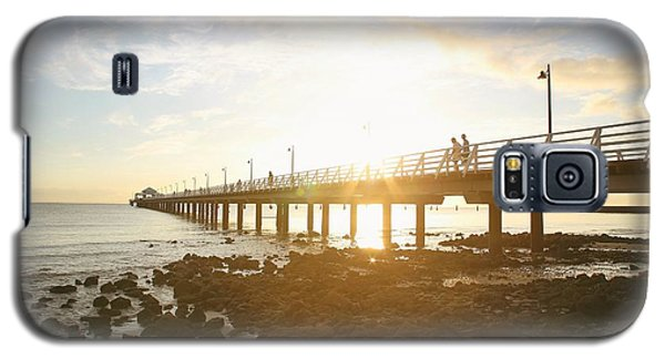 Morning Sunshine At The Pier  Galaxy S5 Case
