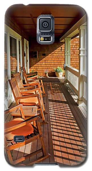 Morning Sunshine On The Porch Galaxy S5 Case