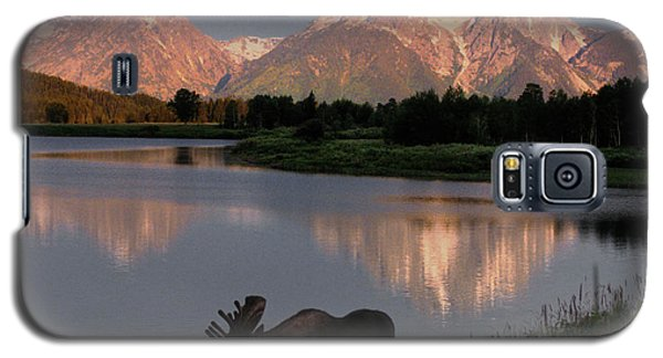 Mountain Galaxy S5 Case - Morning Tranquility by Sandra Bronstein