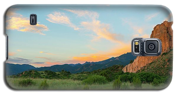 Galaxy S5 Case featuring the photograph Morning View by Tim Reaves