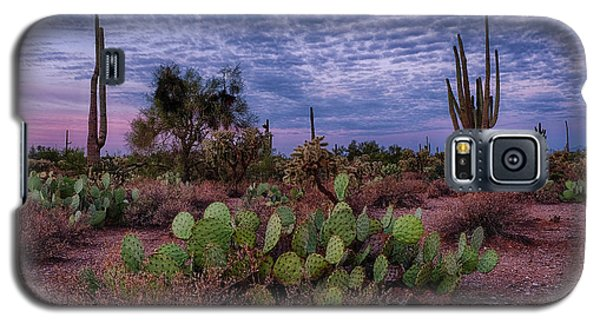 Morning Walk Along Peralta Trail Galaxy S5 Case by Monte Stevens