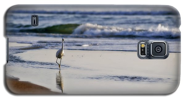 Morning Walk At Ormond Beach Galaxy S5 Case