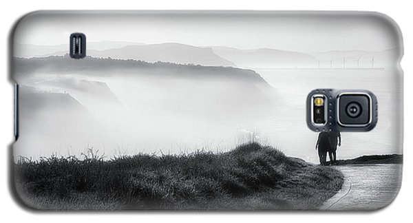 Morning Walk With Sea Mist Galaxy S5 Case