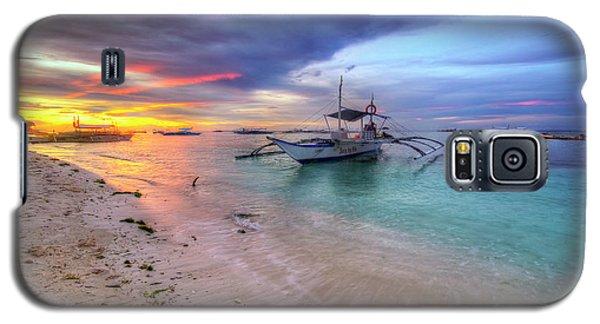 Galaxy S5 Case featuring the photograph Morningtide 2.0 by Yhun Suarez
