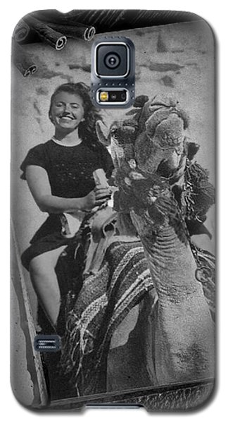 Galaxy S5 Case featuring the photograph Moroccan Camel Trek by Kathy Kelly