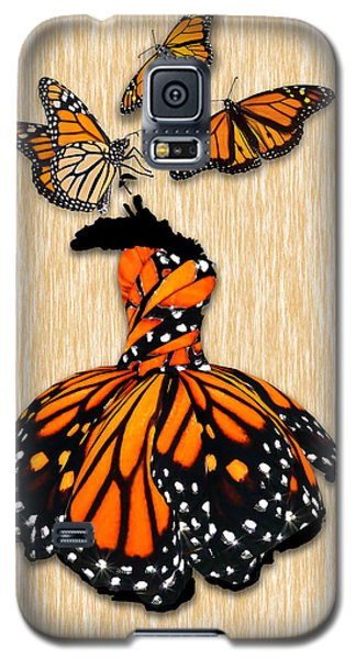 Galaxy S5 Case featuring the mixed media Morphing by Marvin Blaine