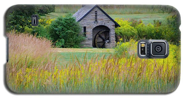 Galaxy S5 Case featuring the photograph Morris Arboretum Mill In September by Bill Cannon