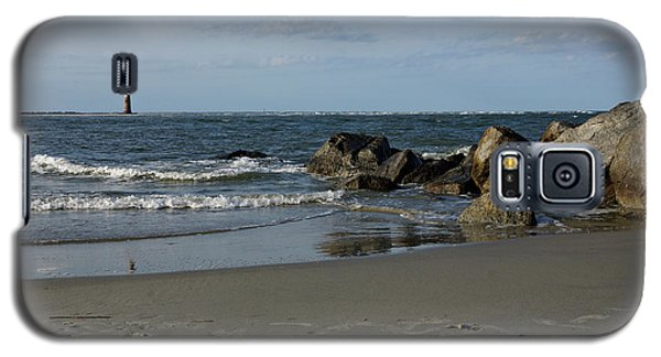 Galaxy S5 Case featuring the photograph Morris Lighthouse by Sandy Keeton