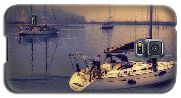 Galaxy S5 Case featuring the photograph Morro Bay Dawn by Douglas MooreZart